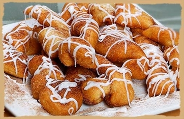 Picture of Cinnamon Twists with Icing
